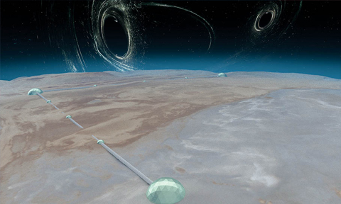 Future gravitational-wave detectors aim to probe early universe