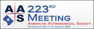 AAS Meeting logo