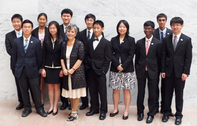 2014 US Physics Team on the Hill