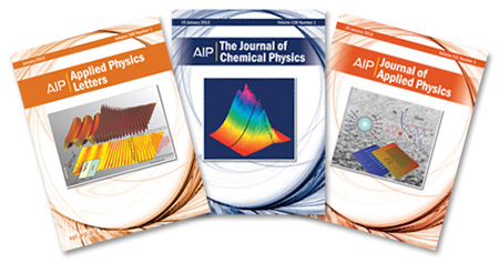 AIP journal covers