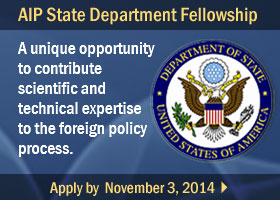 Apply for the AIP State Department Fellowship