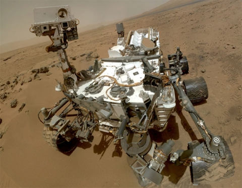 NASA Curiousity Rover on Mars