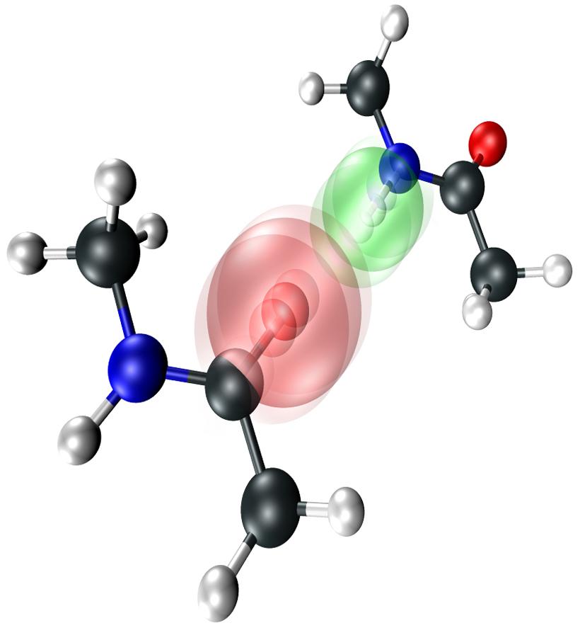 directly visualizing hydrogen bonds american institute