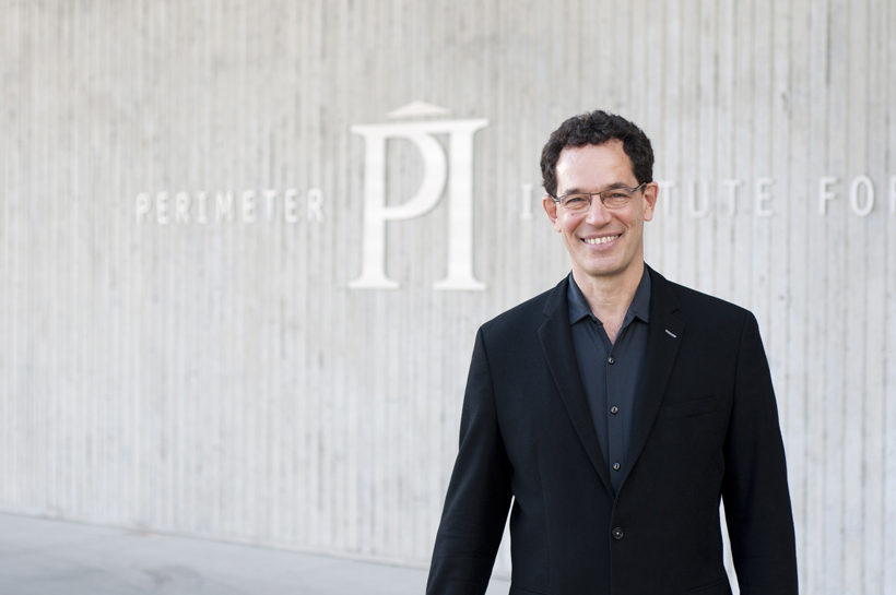 Neil Turok, winner of AIP's 2016 John Torrence Tate Award for International Leadership in Physics