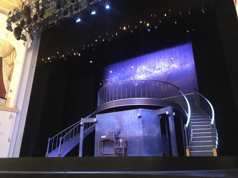 Silent Sky theatre set