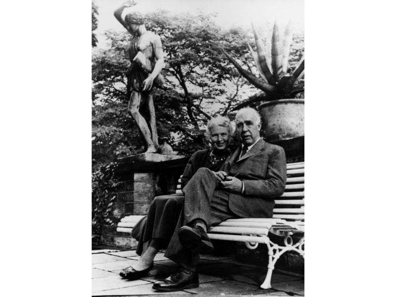 Margrethe and Niels Bohr