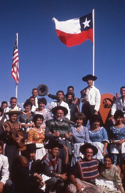 Attendees at the AURA dedication at Cerro Tololo Inter-American Observatory (CTIO)