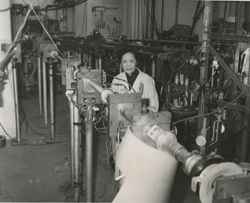 Chien-Shiung Wu in 1963 at Columbia University