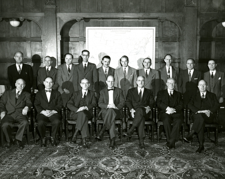 1954 Governing Board.