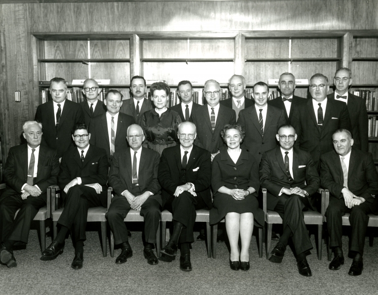 1963 Governing Board.