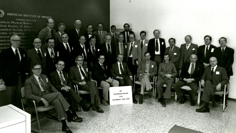 1978 Governing Board.
