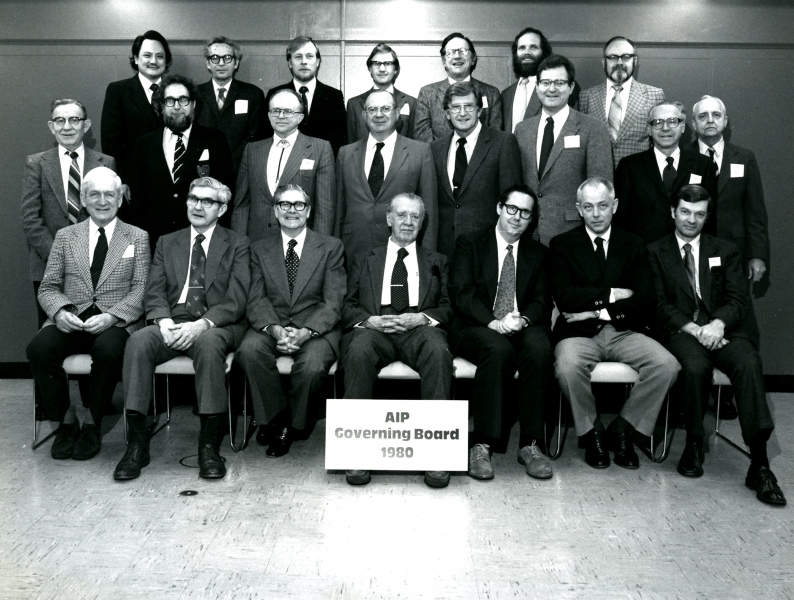 1980 Governing Board.