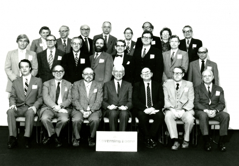 1982 Governing Board.