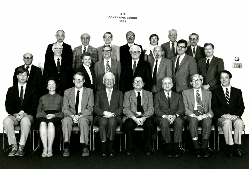 1983 Governing Board.