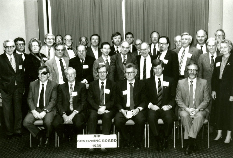 1989 Governing Board.