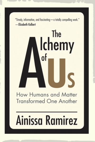 Front cover of Dr. Ramirez's new book, The Alchemy of Us, designed by George Corsillo