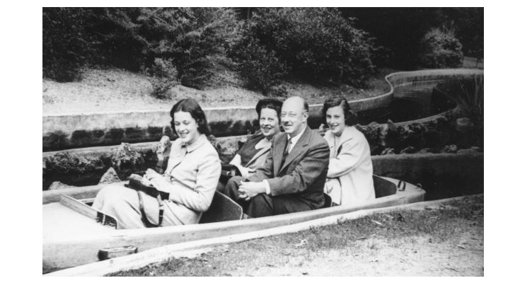 Photo of The Barton Family in France on a boat ride
