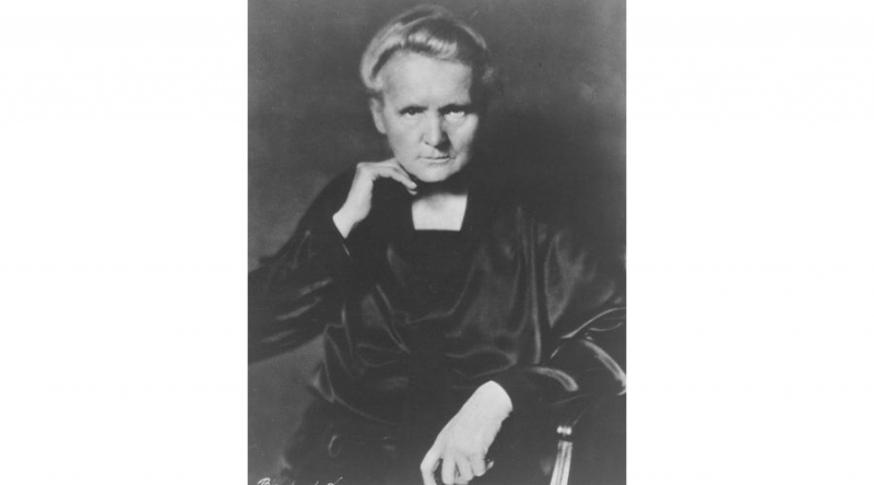 Two-time Nobel laureate, Marie Curie.