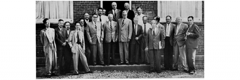 Participants of the first Pugwash Conference, 1957.
