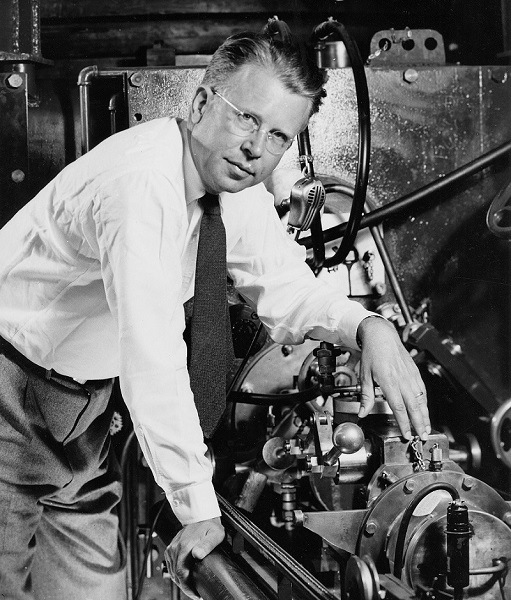 Ernest Lawrence at Cyclotron