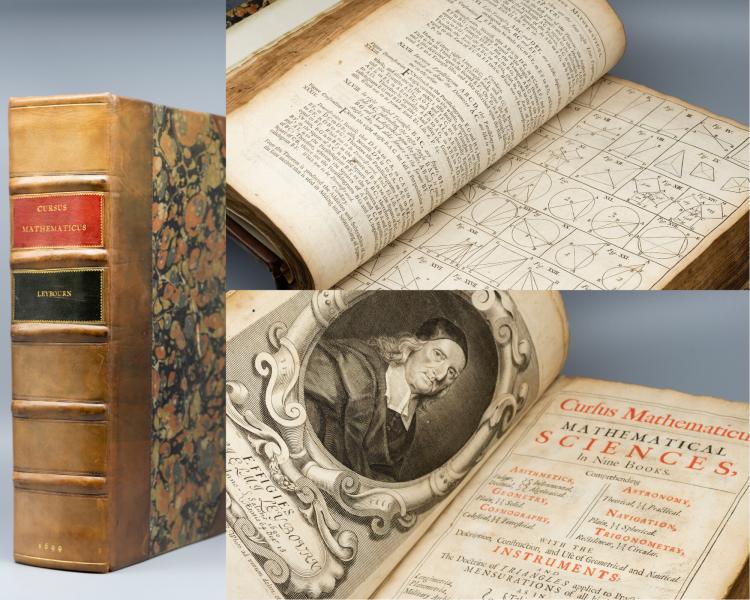 William Leybourn, Cursus Mathematicus, 1690