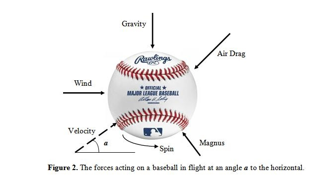 From the website The Physics of Baseball