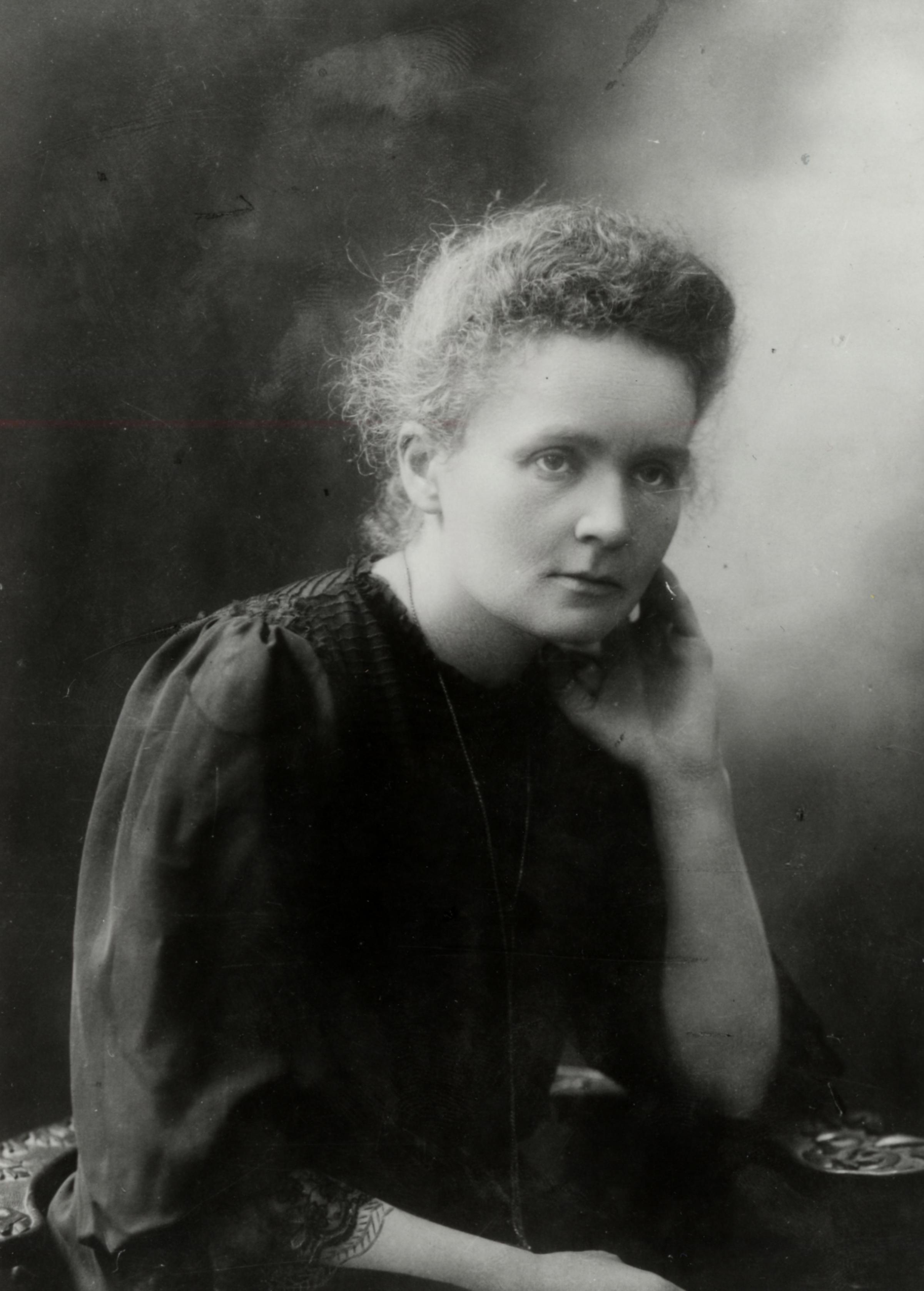 Portrait of Marie Curie