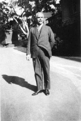 Gilbert Lewis portrait