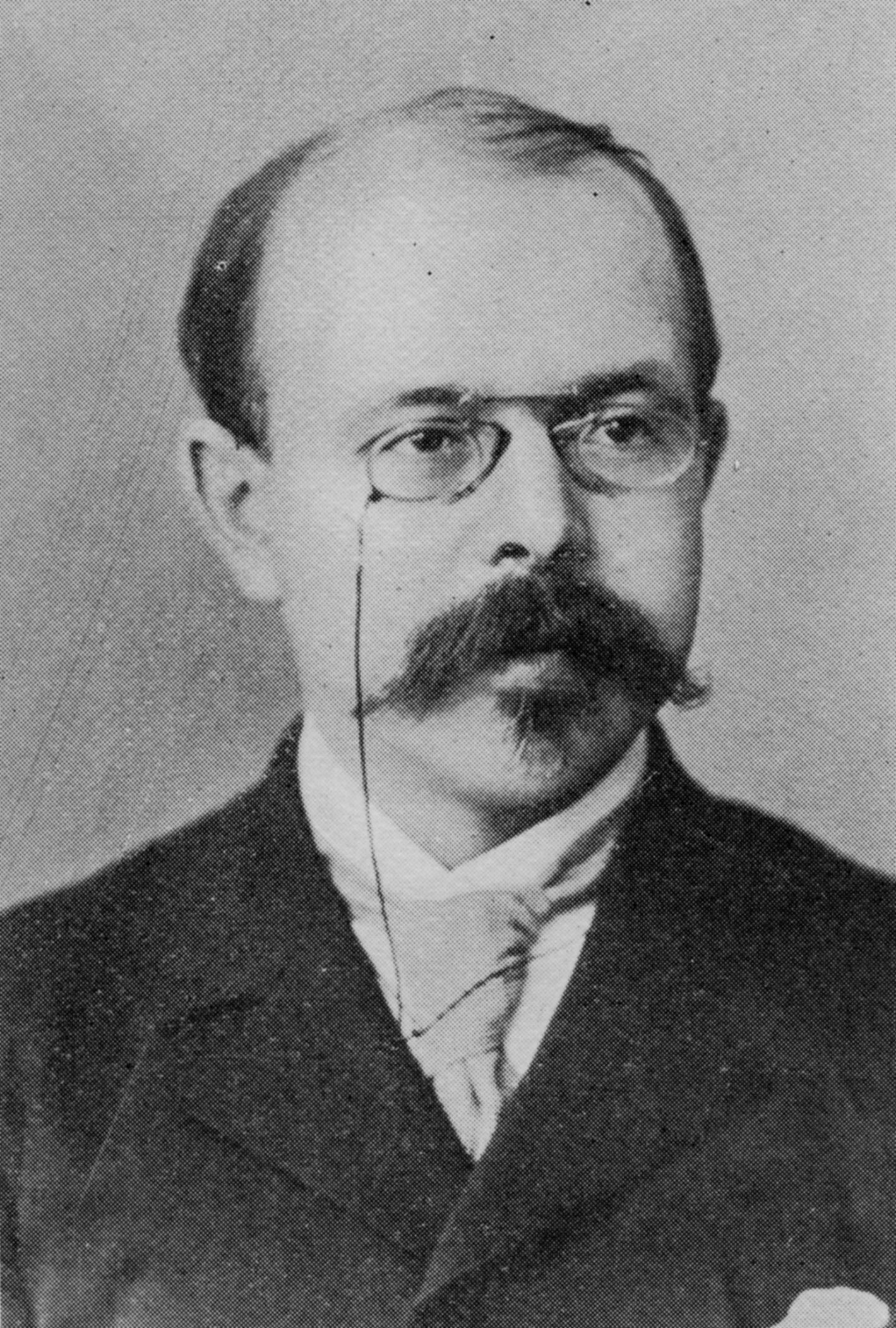 Portrait of Walther Nernst