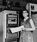 Melba Roy Mouton, a computer at NASA Langley, 1960