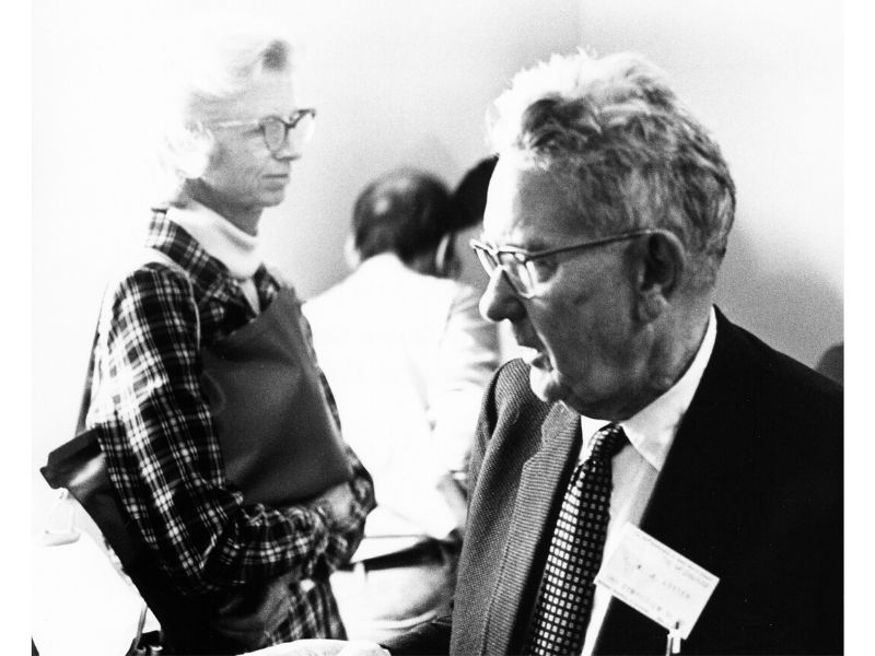 Dorothy Locanthi and W.J. Luyten