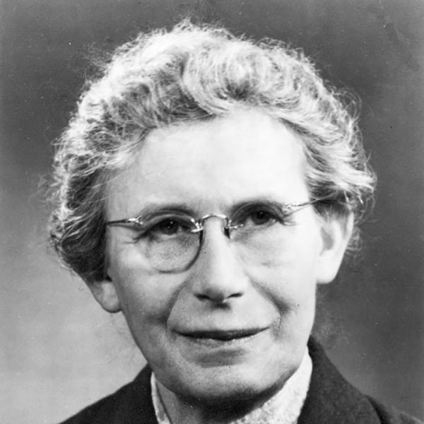 Portrait of Inge Lehmann