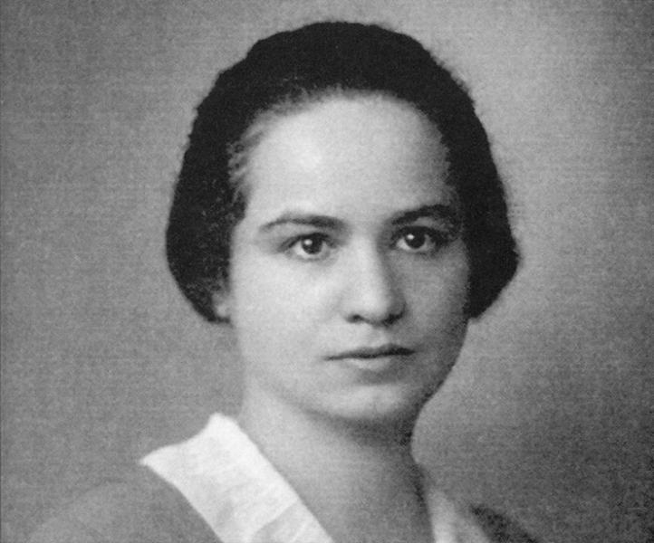 Portrait of Marietta Blau