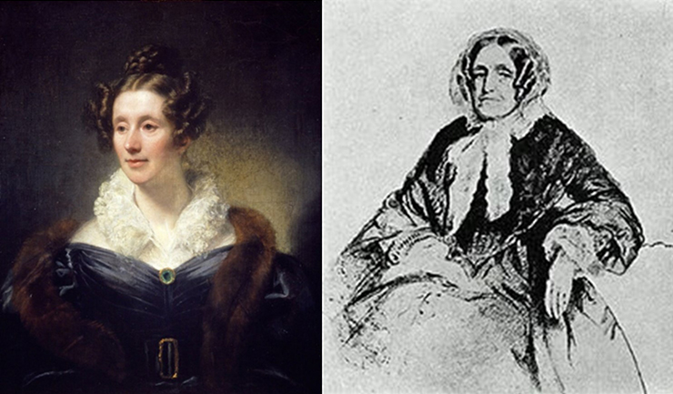 Portraits of Mary Somerville and Jane Marcet