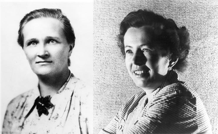 Maria Goeppert Mayer and Cecilia Payne-Gaposchkin