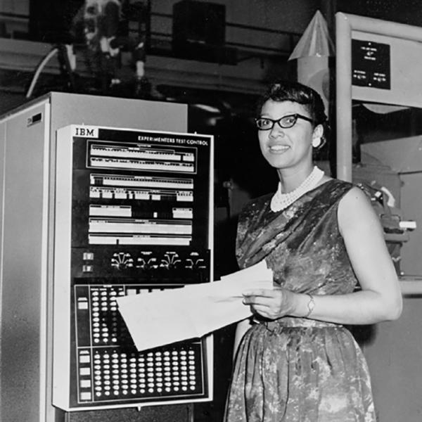 Melba Roy Mouton, a computer, in 1960