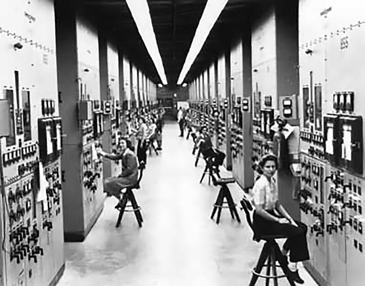 Operators at Oak Ridge National Laboratory