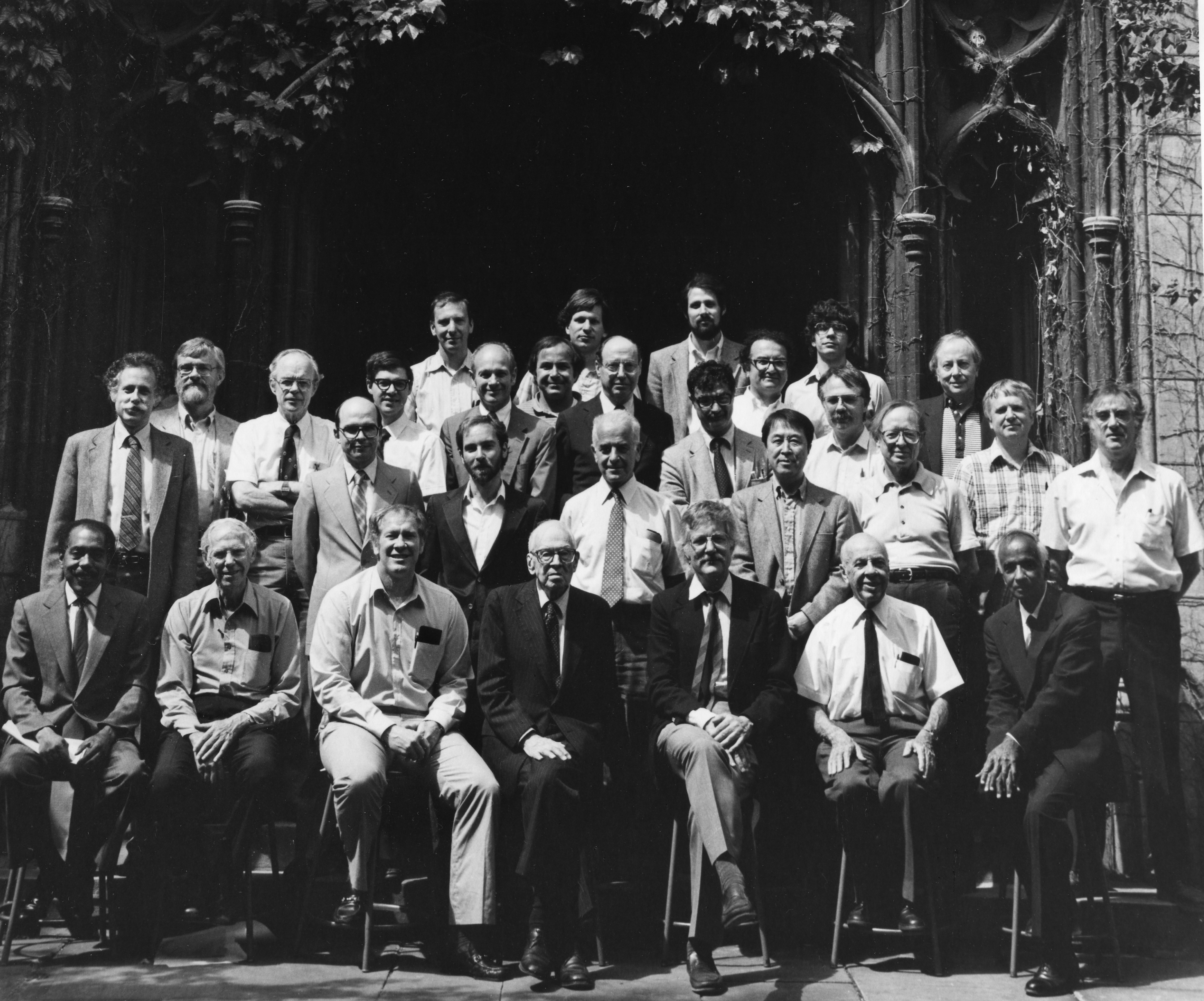 Group photo of the University of Chicago Physics Department