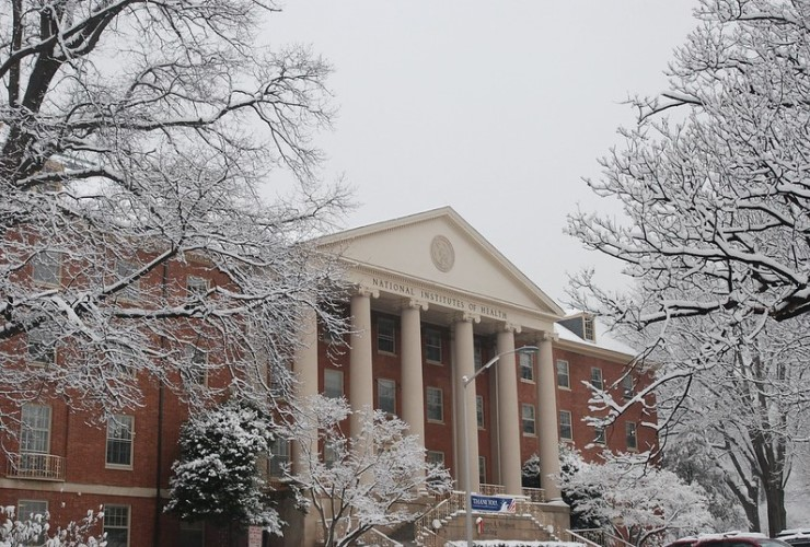 The NIH Campus in Bethesda, MD