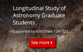 Longitudinal Study of Astronomy Graduate Students